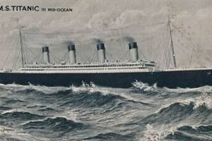 Postcard sent to Birmingham from Titanic fails to sell at auction