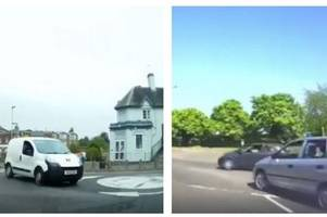 watch: driving instructor exposes dangerous near-misses with impatient motorists