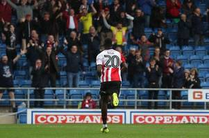 portsmouth in pole position after sunderland bid rejected, with cheltenham town striker mo eisa's future set to be resolved within 48 hours