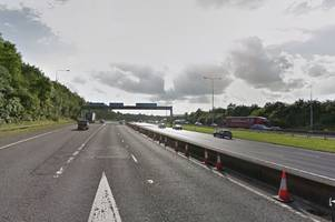 The M20 will be closed for an entire weekend for Highways England to remove Teapot Lane bridge