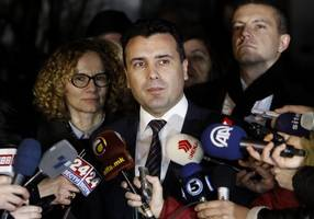 macedonian pm reveals question for referendum on name change