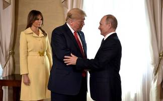 Melania Trump's Haunted Expression After Meeting Putin Is Going Viral
