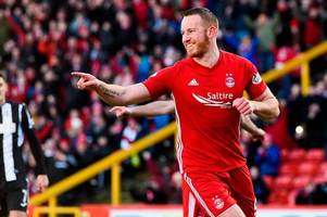 adam rooney leaves aberdeen to sign three-year deal with salford city