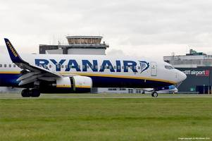 hundreds of ryanair flights to european destinations due to be cancelled next week