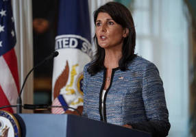 haley charges unhrc's agenda 7 is 'directed against israel's existence'