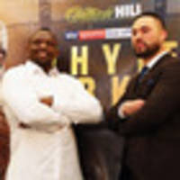 Boxing: Dillian Whyte labels Joseph Parker a coward ahead of bout