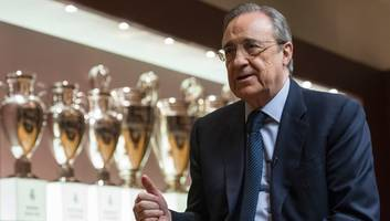 florentino perez promises to reinforce real madrid with 'great players' following ronaldo exit