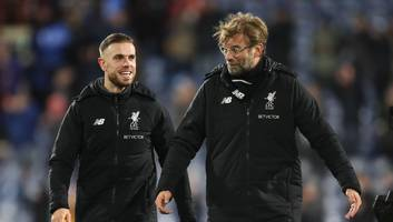 Liverpool Boss Jurgen Klopp Stops 'Crazy' Jordan Henderson From Returning to Training Early