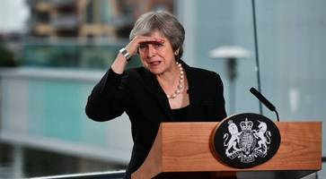 Theresa May tells Northern Ireland's politicians to get back to work in Belfast address