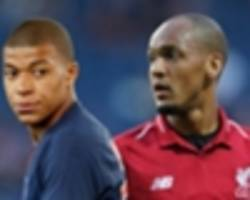 fabinho: i'll try to convince mbappe to join liverpool