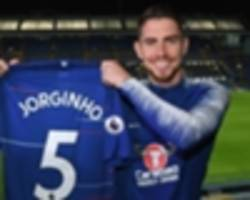 guardiola: it would've been a 'mistake' for jorginho to join man city