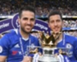 video: chelsea need hazard to stay, i'm trying to convince him - fabregas