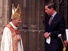 prince charles continued close friendship with paedophile priest peter ball he tells enquiry