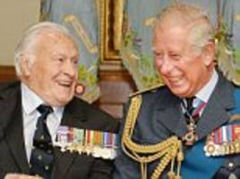youngest spitfire pilot to fly in the battle of britain...