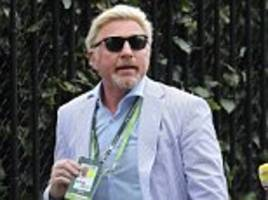 boris becker 'called police after his wife ripped photos of them'