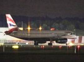 flights into gatwick are diverted after plane performs emergency landing at london airport