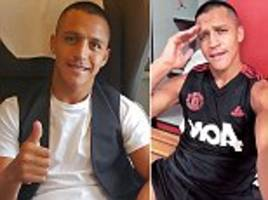 alexis sanchez flies to america to join manchester united team-mates