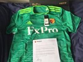 watford send free replica shirts to fans who attended all 19 premier league away games last season