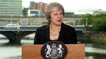 i will never be neutral on border, says theresa may