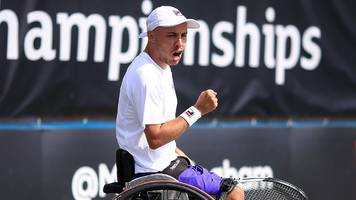 Lapthorne reaches British Open quad singles final