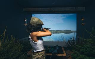 get your tweed on: a virtual shooting range is coming to the city