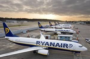 ryanair flights to portugal and spain could be cancelled from east midlands airport - here's why
