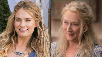 Mamma Mia 2: Lily James on following in Meryl Streep's footsteps