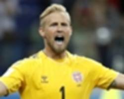 chelsea target schmeichel placed 'in the top three' of world goalkeeping elite
