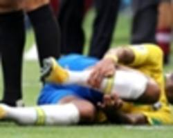 'do you think i want to suffer tackles? it hurts!' - neymar defends much-maligned theatrics
