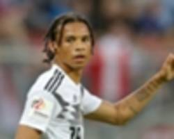 Guardiola urges Sane to use World Cup snub to 'make him stronger'