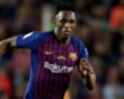 mina planning barcelona stay in blow to everton