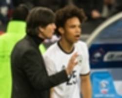 sane: low gave me good reasons for world cup snub