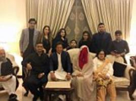 i didn't get a glimpse of my mystic bride's face until after we married, says imran khan