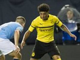 jadon sancho admits he was fired up to face former club man city