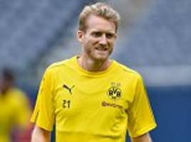 Schurrle misses Man City clash to start exit talks...as Palace linked with move for his signature