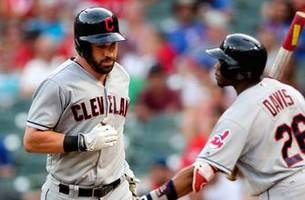 Indians win in 11th at Texas after debuting new relievers