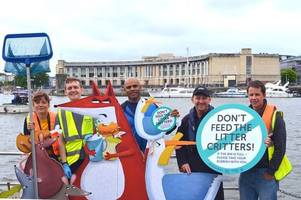If bins are full take your rubbish home with you is the message as mayor Marvin Rees urges people to keep Bristol clean