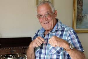 80-year-old former heavyweight boxing champion from salfords still trains every day
