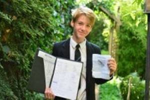charlie, 13, launches petition against his own school - in protest at 'stupid' new behaviour system
