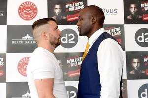 Lee McAllister's roller coaster boxing career set for next incredible twist as he jumps up SEVEN weight divisions
