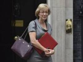 andrea leadsom reveals vicious online abuse over westminster harassment scandal