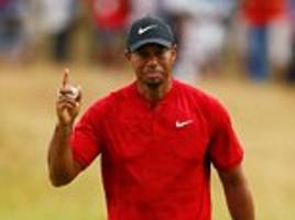 Tiger Woods is LEADING The Open in what would be one of the greatest sporting comebacks of all time