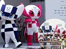 tokyo unveils miraitowa and someity as mascots for 2020 olympic and paralympic games