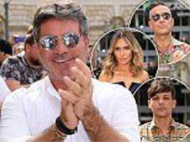 simon cowell launches 'most expensive' x factor series yet as he hopes to regain show's 'glory days'