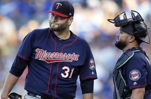 lynn labors through five innings, twins lose 4-2