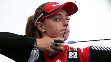 archery world cup: britain's women's recurve team win silver
