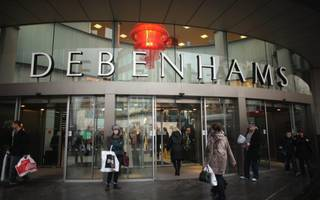 debenhams and blow deny rift in relations