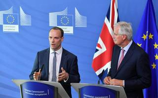 dominic raab claims 80 per cent of withdrawal agreement is settled