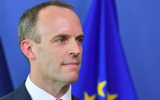raab leaves 'no deal' brexit on the table as may plans eu charm offensive