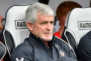 southampton boss mark hughes praises 'bright' derby county after pride park friendly